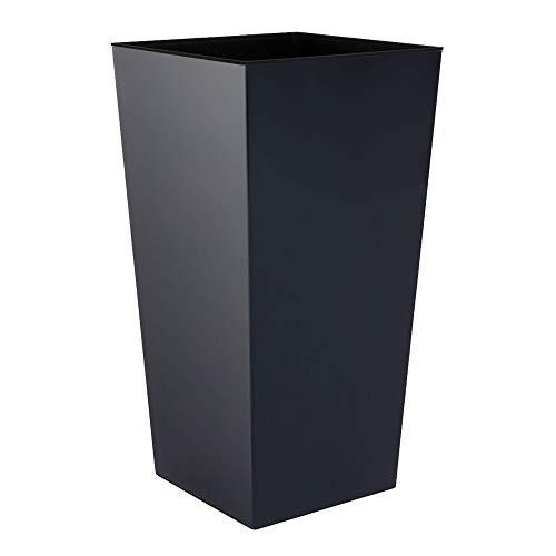 Prosperplast vaso di fiori, grigio (antracite), 32,5x32,5x61 cm, DURS325-S433