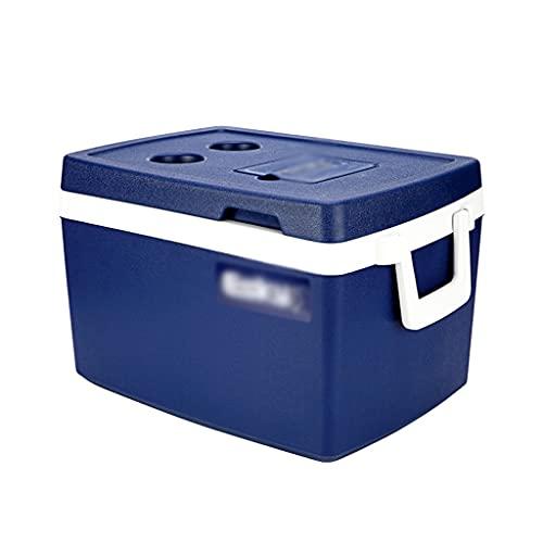 SHENXINCI Performance Cooler - Capacidad de 50 litros, Nevera Portatil y Rigida, Porta Alimentos,Caliente y Frio Proposito Doble Incubadora Al Aire Libre,con Asa Portátil,Se Puede Refrigerar 36H