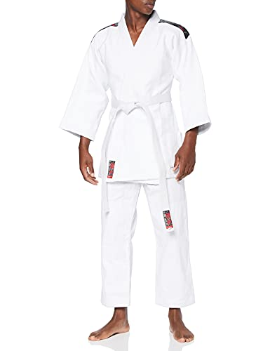 DEPICE–Kimono de Judo de shori Blanco Blanco Talla:180 cm