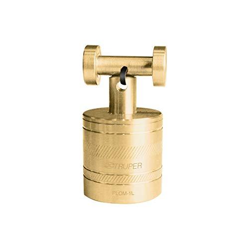 TRUPER PLOM-1L Brass Plumb Bobs w/ Center 11.9 Oz (336 g)