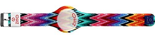 Orologio digitale unisex piccolo ZITTO MISSY STREET EDITION in silicone multicolor UPAND-DOWN-MINI-KT