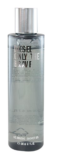 Diesel Only the Brave homme / men, Duschgel 200 ml, 1er Pack (1 x 200 ml)