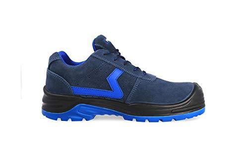 Zapato Seguridad Carbono - Marca PAREDES - Color Azul Marino - Talla 40