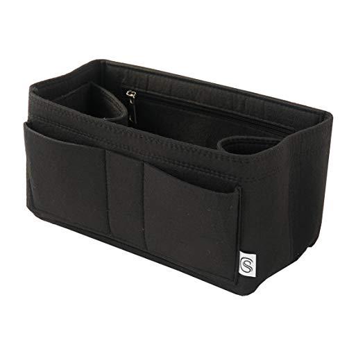 Classic Slash Taschenorganizer Filz für Speedy 30 Neverfull MM Large und Taschen ab 30cm Innenmaß I Schwarz