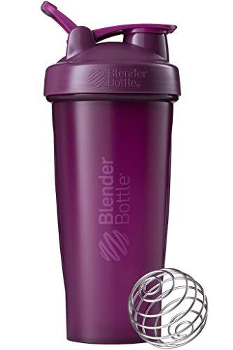 BlenderBottle Classic Loop Shaker mit BlenderBall, optimal geeignet als Eiweiß Shaker, Protein Shaker, Wasserflasche, Trinkflasche, BPA frei, skaliert bis 600 ml, 820 ml, lila
