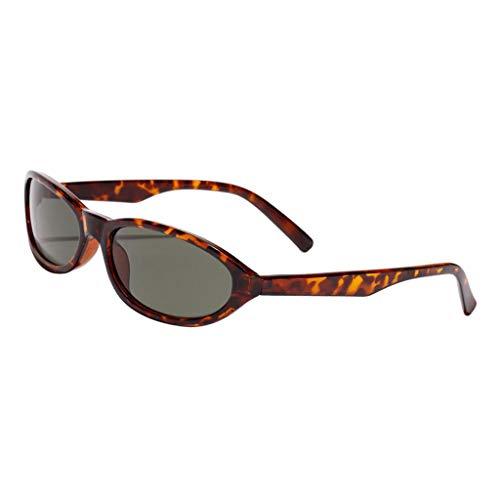 Sharplace Gafas de Sol de Moda Anteojos de Mujer Hombre Colorido para Playa Viaje Conducción - marrón