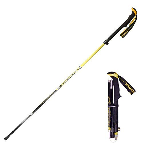 Collapsible Lightweight Hiking Poles, High Load Bearing, Tough, Stylish And Strong, Stable And Durable, With Eva Soft Foam Handles, Comfortable Grip