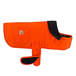 Hunter Orange Carhartt Chore Coat Dog Vest