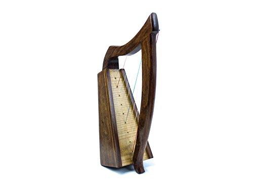 Dannan handgearbeitete, keltische Holz-Harfe mit 9 Saiten