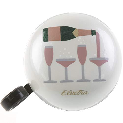 Electra Bicycle Electra Fahrrad Klingel Kuppel Glocke Ringer Bell Knallig Bunt Ring 60mm, DomedRinger, Design Champagner