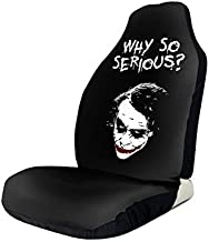 NDSXTLCA The Joker Durable Cushion Car Seat Cover, General Purpose SUV,Car and Truck 2 PCS