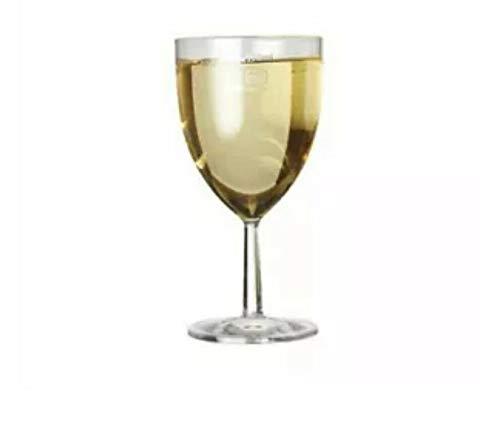 Copa de vino de plástico CE marcado 175 ml a línea Reutilización Multi Packs (96)