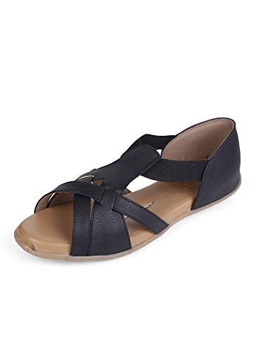 DOCTOR EXTRA SOFT Orthopedic and Diabetic Sandals for Women Black