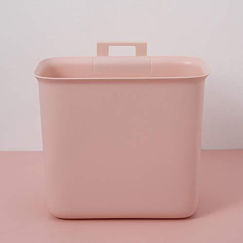 LICEA Opknoping Wastemanden voor in de kast Prullenbak, 6,4 Liter(1,6 Gallon) Keuken Garbage Container Bin Draagbare afvalbak Herbruikbare opbergdoos