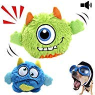NEILDEN Interactive Dog Toys,Plush Squeaky Giggle Ball,Automatic...