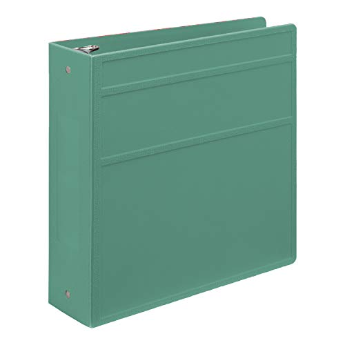 Carstens 3- Inch Heavy Duty 3-Ring Binder - Side Opening, Mint