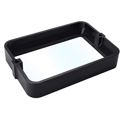 CLJ-LJ Aluminium-Harz-Behälter mit FEP-Blatt Film MwSt Vollmetallrahmen Durable for 5,5/6,3-Zoll-Photon SLA LCD 3D-Drucker-Teile Impresora