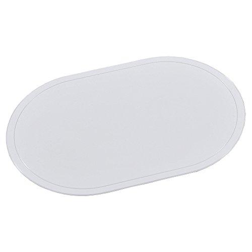 Kesper Sets de table en blanc, Plastique