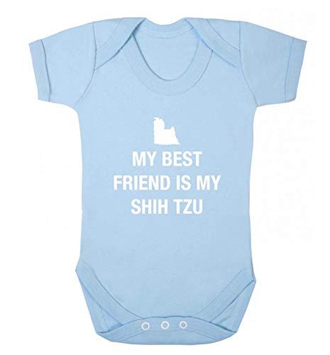 Flox Creative Gilet pour bébé Best Friend Shih Tzu - Bleu - XS