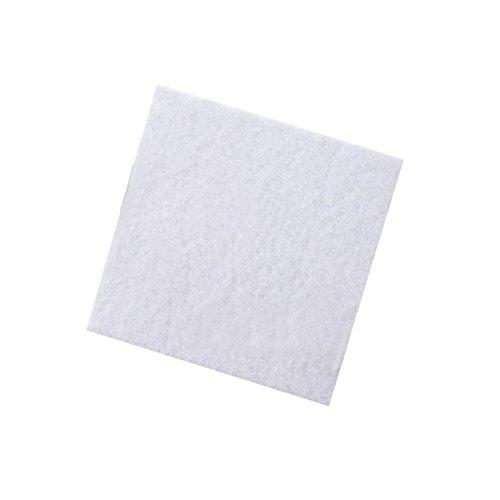 EsportsMJJ 50x50x3cm Biochemische Filter Katoen Schuim Sponge Pad Vis voor Aquarium Tank Vijver, Kleur: wit, 1
