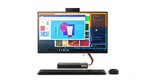 Lenovo IdeaCentre AIO 24' Touch 256GB SSD 2TB HD (Intel Processor with Six Cores and Turbo 3.40GHz, 16 GB RAM, 256 GB SSD + 2 TB HD, 24' FHD Touch, Win 10) Desktop All in One PC Computer A540-24ICB