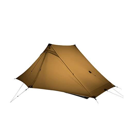 2 persona al aire libre ultraligero camping tienda 3 temporada profesional 20d nylon ambos lados silicio tienda de tiendas de tiendas tiendas de tiendas de campaña apagón tienda campaña tienda pop up