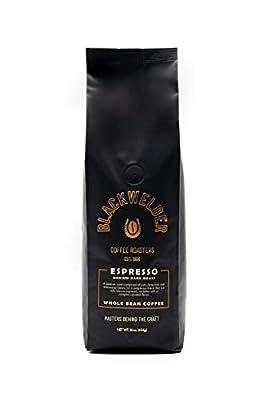 Blackwelder Coffee, 100% Arabica Espresso Whole Bean Coffee, Fresh Roasted Small Batch