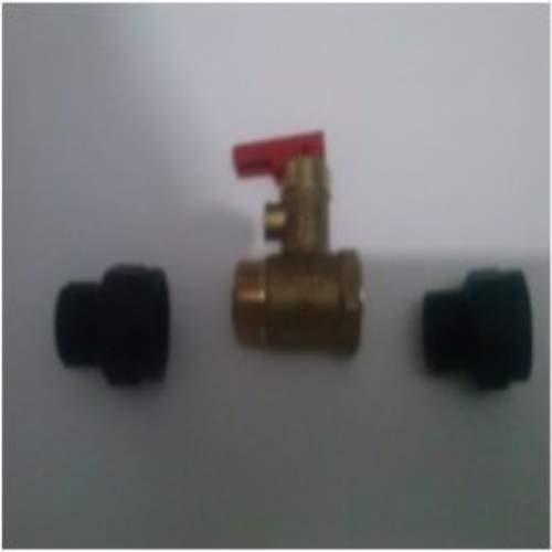 Anzapack 852063F - Valvula De Seguridad Para Termo Con Purgador 1/2