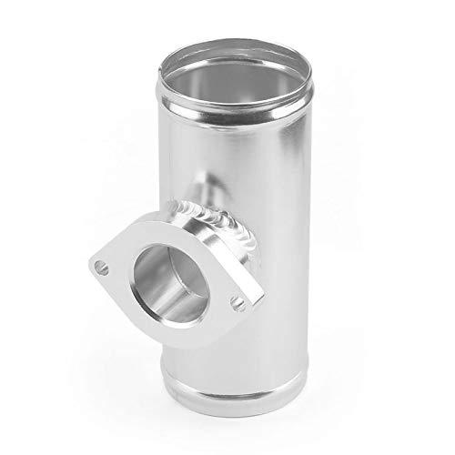 LULUTING Válvula Tubo de la Brida del Adaptador de la válvula del Soplo de 2.5 Pulgadas de 63 mm Turbo para el Tipo de Tubo GD-RS FV (Color : Silver)