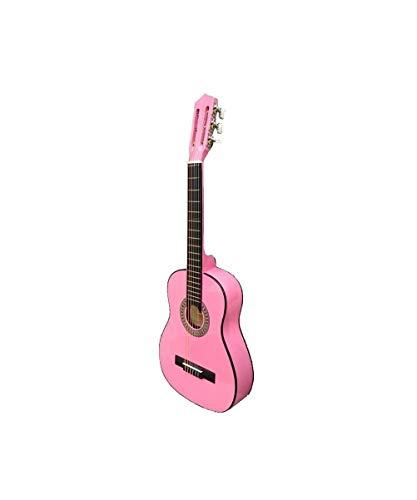 Guitarra rocio c16 (3/4) 90 cms rosa