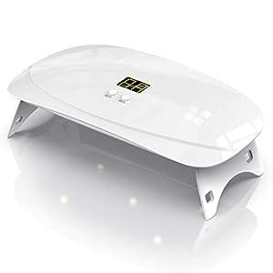 BURSUN Sterilizzatore UV Sterilizzatore UV Portatile Telefoni Cellulari Sterilizzatore per uso Domestico Applicabile a Occhiali Lampada Di Sterilizzazione Android iPhone Display LED Aggiornato