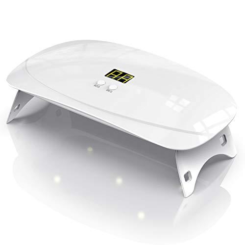 BURSUN UV-Sterilisator, tragbar, für Handys, Sterilisator, für den Hausgebrauch, geeignet für Brillen, Sterilisationslampe, Android, iPhone, LED-Display