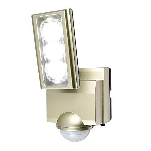 センサーが人や車の動きを検知して自動点灯。 ELPA(エルパ) 屋外用LEDセンサーライト AC100V電源(コンセント式) ESL-ST1201AC 〈簡易梱包