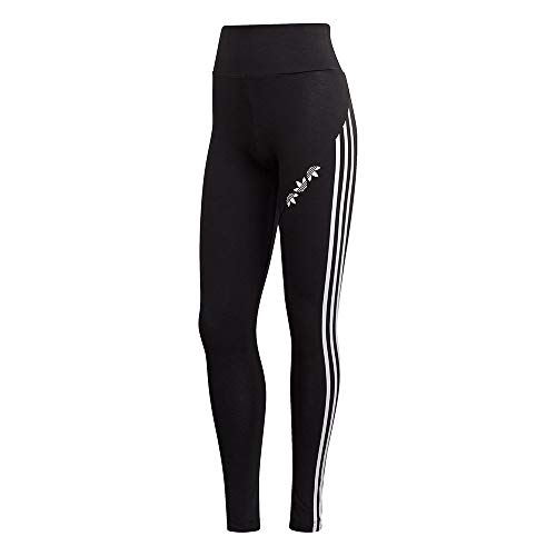 adidas GT8469 HW Tights Leggings Womens Black/White 40