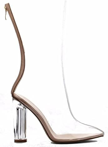 Clear high heel boots _image4