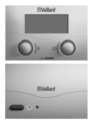 Vaillant Raumtemperaturregler calorMATIC 392f