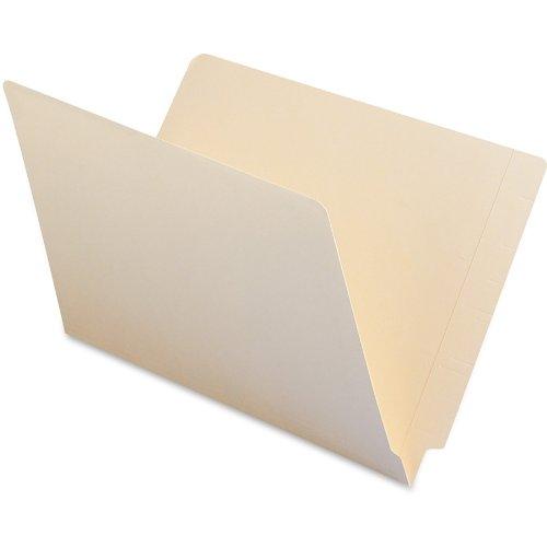 Smead End Tab File Folder, Shelf-Master Reinforced Straight-Cut Tab, Legal Size, Manila, 100 per Box (27110)