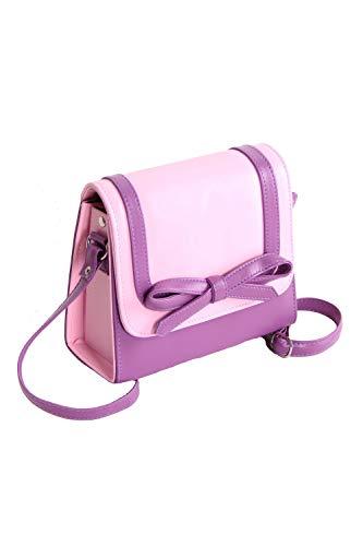 SugarShock Damen Handtasche Cetha Bow two tone, Farbe:rosa flieder