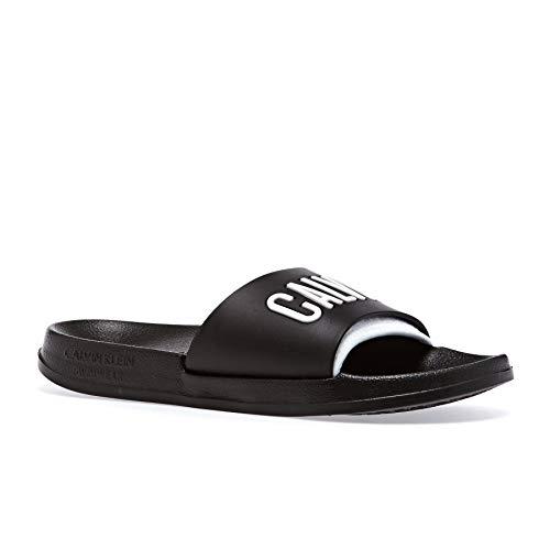 Calvin Klein Damen Pantoletten schwarz (200) 41/42