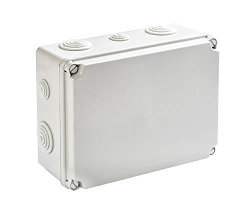 IP65 Aufputz Feuchtraum Abzweigkasten Verteilerkasten Abzweigdose Verteilerdose (241x180x95mm)
