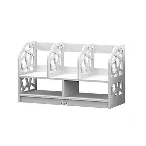 AEROBATICS Lagerregal,Regalsystem vielseitiges modulares Lagerregal Schreibtisch-Regal Desktop-Bücherregal Schreibtischablage Einfach Platzsparend Büro zu Hause