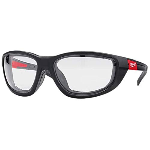Milwaukee Clear Performance Safety Glasses W/Gasket