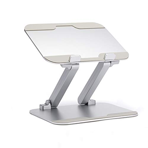 Laptop Stand, Ergonomic Adjustable Laptop Riser, Laptop Stand Compatible with MacBook, Air, Pro, Dell XPS, Samsung, Lenovo, Alienware All Laptops 10-17.3', Supports Up to 44 Lbs -Silver