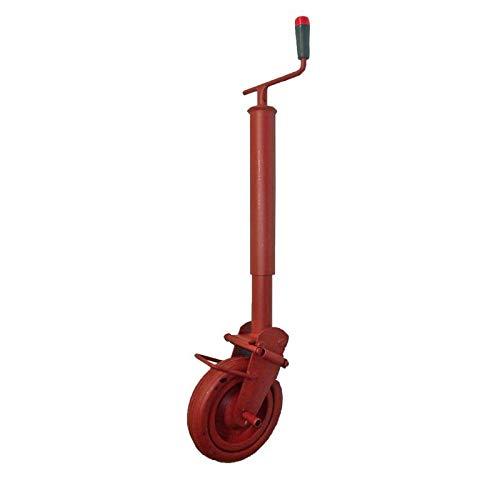 SIMOL Stützrad für Kipper Stützlast 400 kg - Gummirad Gewicht 5,8kg