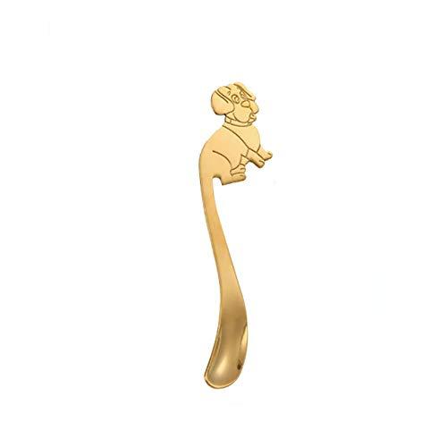 JZTRADING cucharas canapes cucharas Postre Acero Inoxidable Cuchara de Nutella Chocolate cucharas agitadores Cucharas de Acero Cuchara de Miel Azúcar Cuchara Gold,s