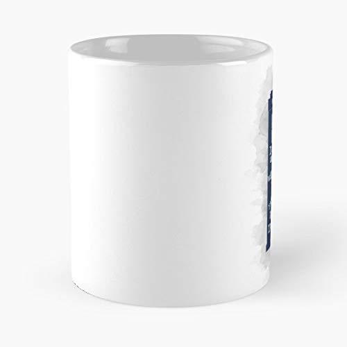 Dr Who The Optimist Quote Tardis Coffee Mugs Set Of 4 Nicola Best 11 oz Kaffee-Becher - Tasse Kaffee Motive
