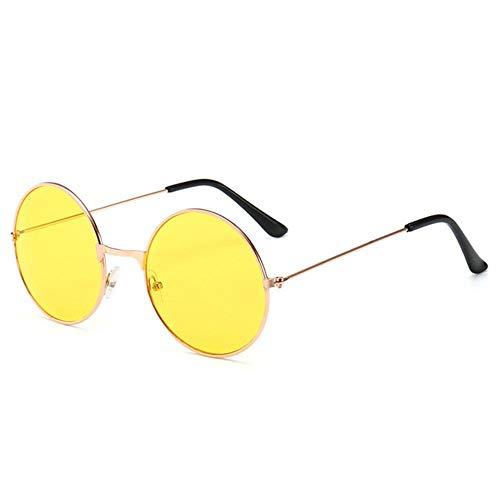 DIF 1 STKS Retro Vintage Zonnebril Ronde Metalen Zonnebril Mannen Vrouwen Bril Driver Goggles