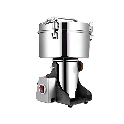 Bdesign Stainless Steel Grinder, 4500g Large Capacity Grinder, Household Fine Grinder, Powder Grinder, Commercial Dry Grinder and Crusher
