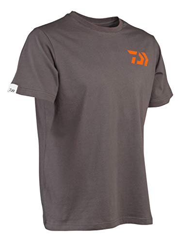 Daiwa - Tee Shirt Gris Orange L - TSGOL