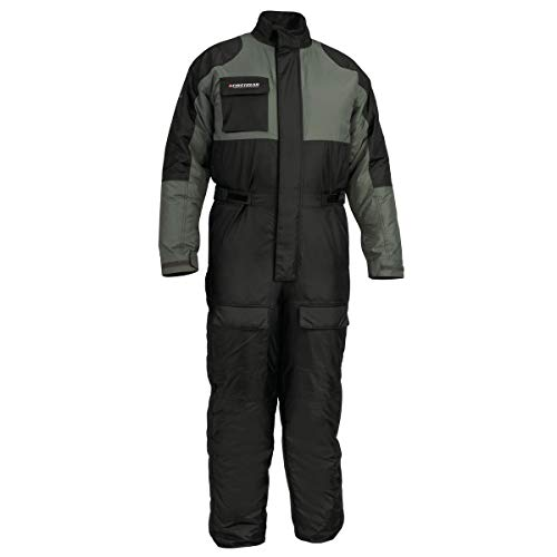 Firstgear Thermo One-Piece Rain Suit (Small) (Black)